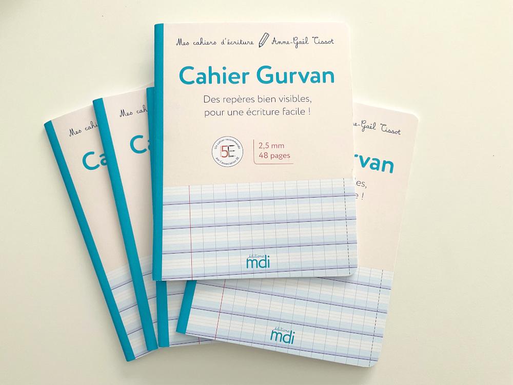 Les cahiers d'apprentissage de l'écriture de chez MDI pour les élèves en difficultés