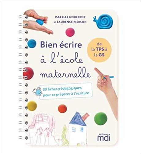 cahier d'apprentissage de l'écriture pour les maternelles.
